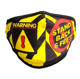Fydelity Face Mask Stand Back